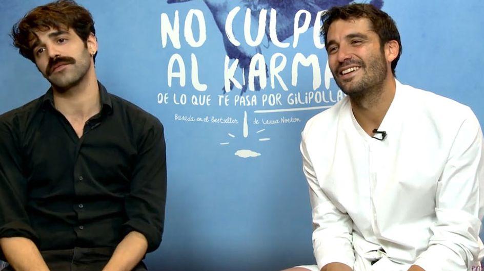 """Álex García y David Verdaguer: """"Nosotros somos gilipollas declarados"""""""