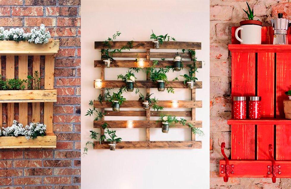 Móveis de palete em 21 ideias de decoração