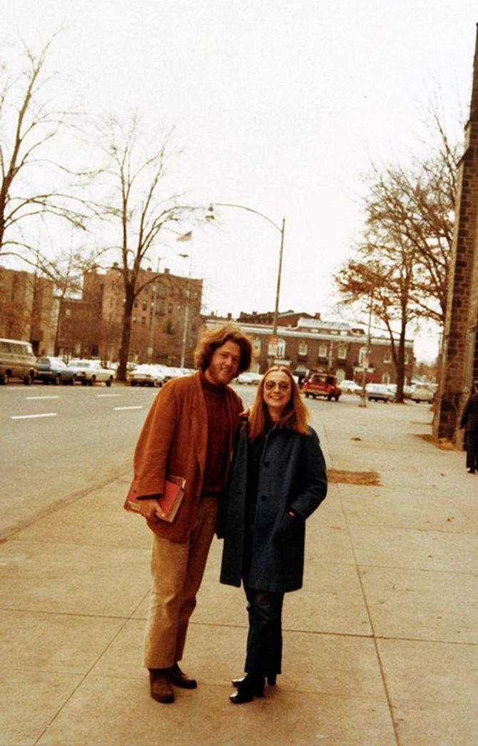 Hillary et Bill Clinton