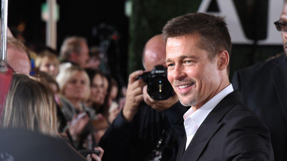 Brad Pitt pone una sonrisa a su crisis familiar con Angelina