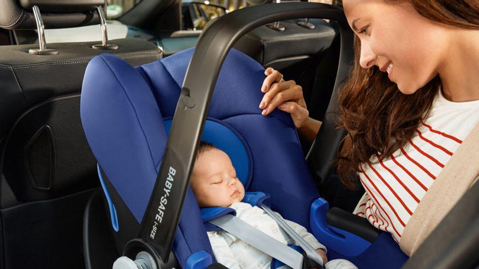 ¡Bebé a bordo! 6 consejos para la buena elección de un portabebés