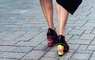 Scarpe intercambiabili: da ballerine a décolleté con tacchi da urlo con un solo