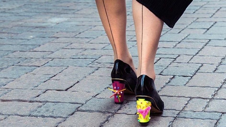 Scarpe intercambiabili: da ballerine a décolleté con tacchi da urlo con un solo bottone!