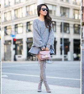 Comment porter un pull en restant vraiment élégante ? On vous le prouve en 50 lo