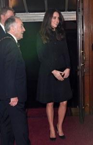 Kate Middleton lors de la cérémonie de commémoration de l'Armistice