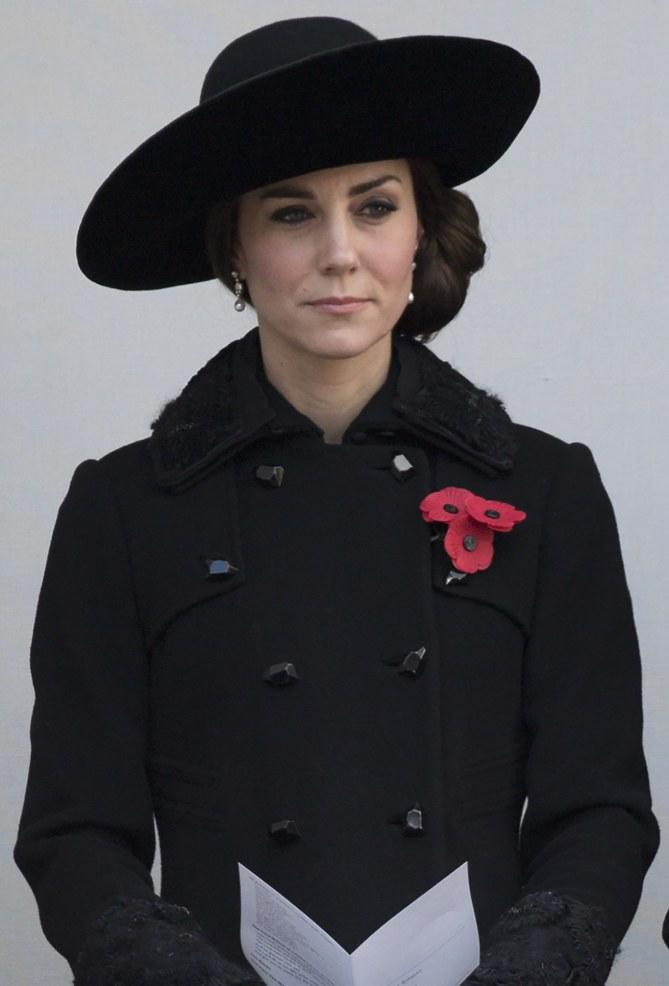 Kate Middleton lors du Remembrance Sunday - le 13 novembre
