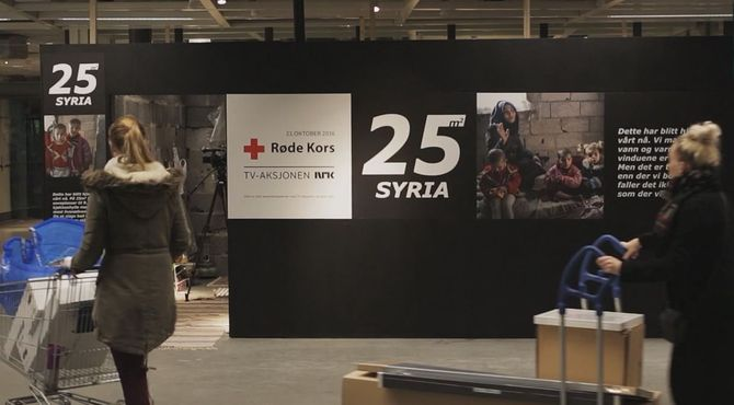 La reproduction d'un appartement syrien par IKEA