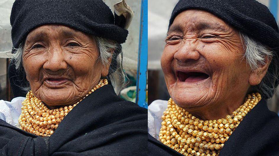 El proyecto Sonrisa: ¿Cómo reaccionan las personas cuando les dicen que son hermosas?