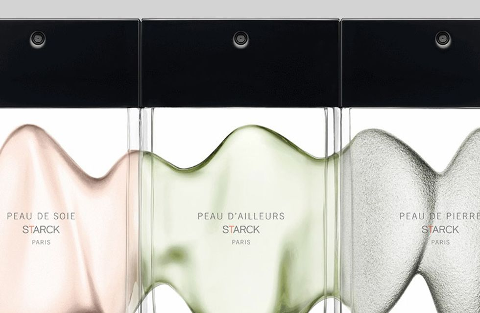 Perfumes Philippe Starck: una historia olfativa en tres pieles