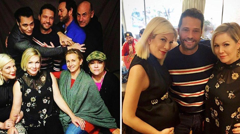 Il cast di Beverly Hills riunito per tifare Shannen Doherty e la sua lotta contro il cancro al seno