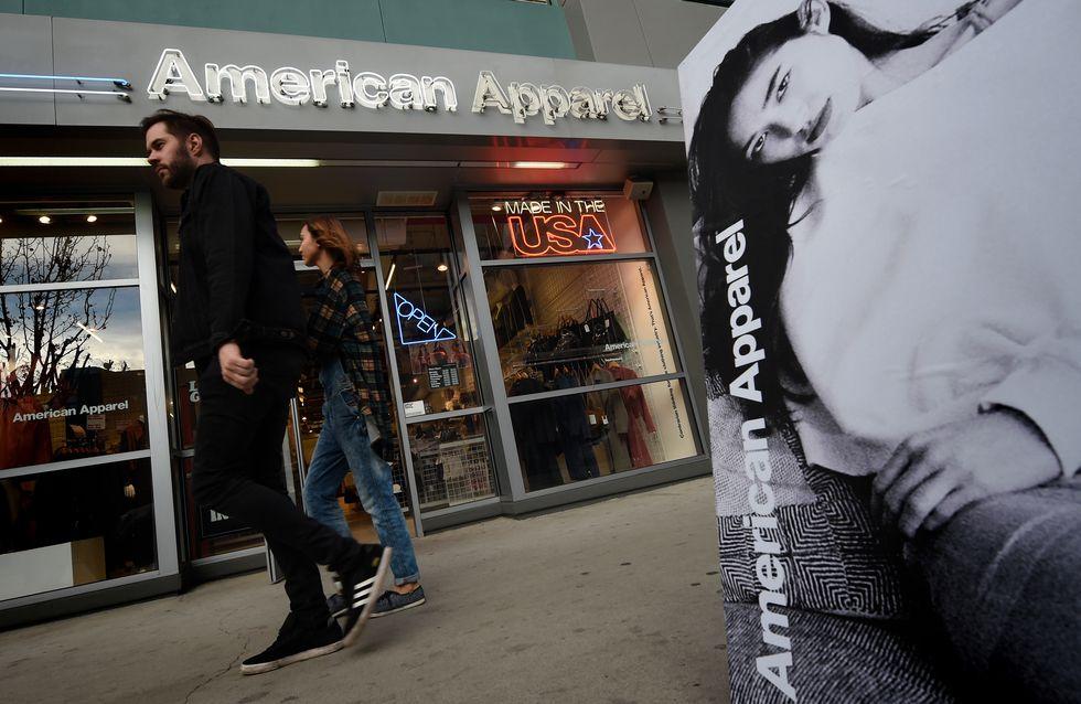 La fin pour American Apparel ?