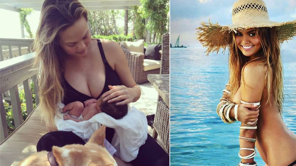 Ein Model sagt die Wahrheit: Warum Promi-Mamas ihre Babypfunde WIRKLICH so schnell verlieren