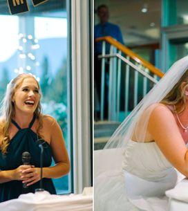 Märchenhafte Hochzeitsrede: Diese Schwestern verzaubern die Braut mit einem Disn