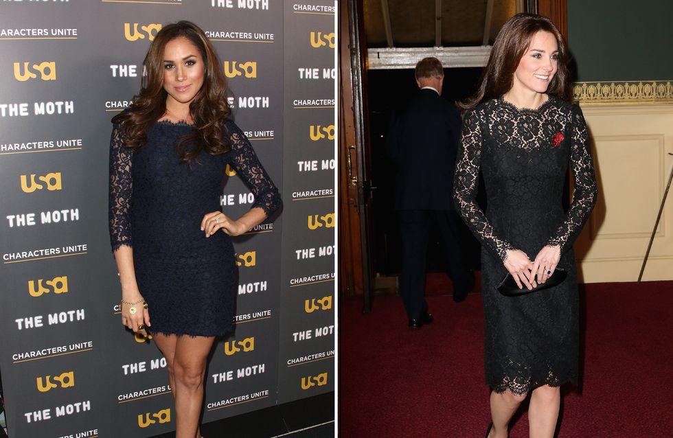 Oui, la nouvelle girlfriend du prince Harry s'inspire des looks de Kate Middleton (Photos)