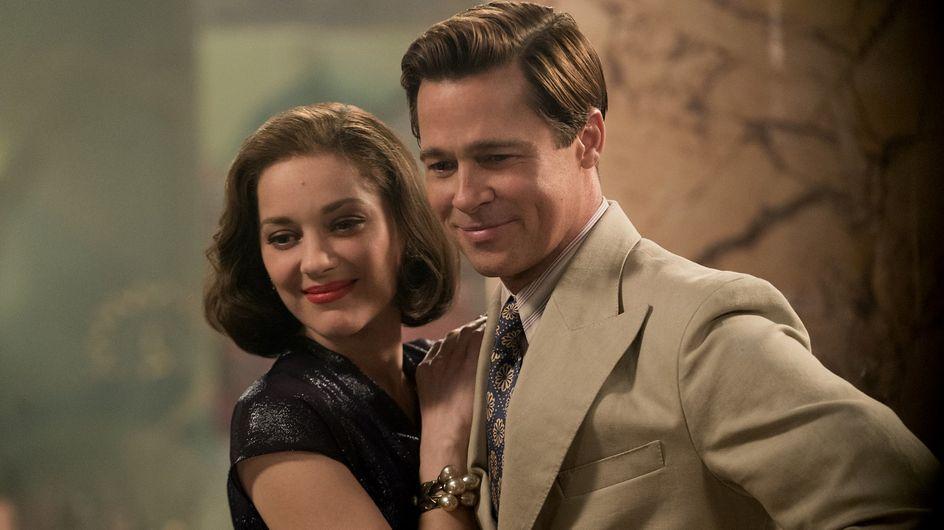 """Marion Cotillard et Brad Pitt, couple de choc dans """"Alliés"""""""