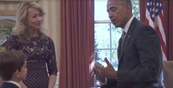 La rencontre d'Alex Myteberi avec le président Barack Obama