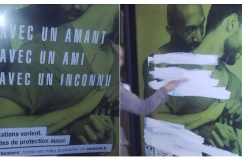 La pitoyable réaction des conservateurs à la nouvelle campagne de prévention contre le VIH (Photos)
