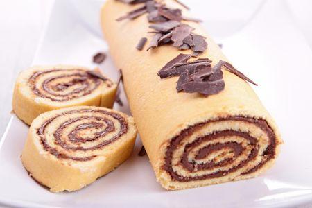 Le plus simple, le gâteau roulé au Nutella !