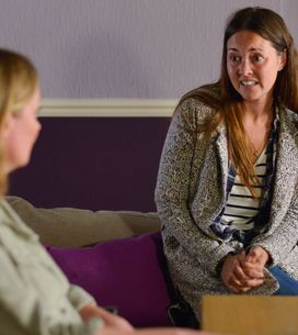 Eastenders 02/12 - Jane Is Offered Words Of Support By Stacey