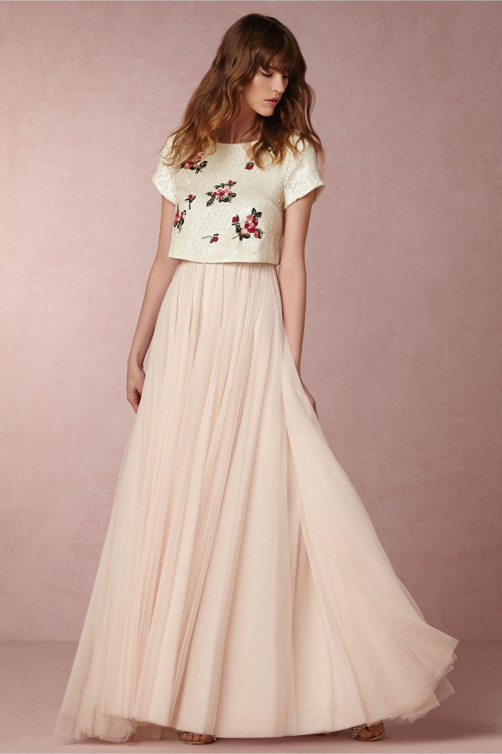 Zweiteilige Brautkleider: Der Brautmode-Trend 13