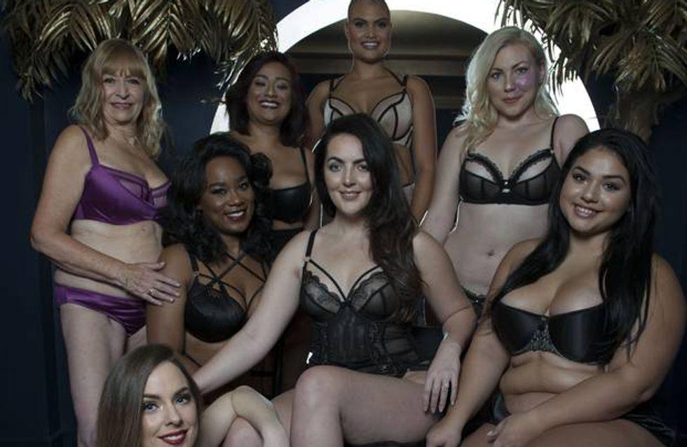 Curvy Kate sublime nos différences dans une nouvelle campagne lingerie (Photos)