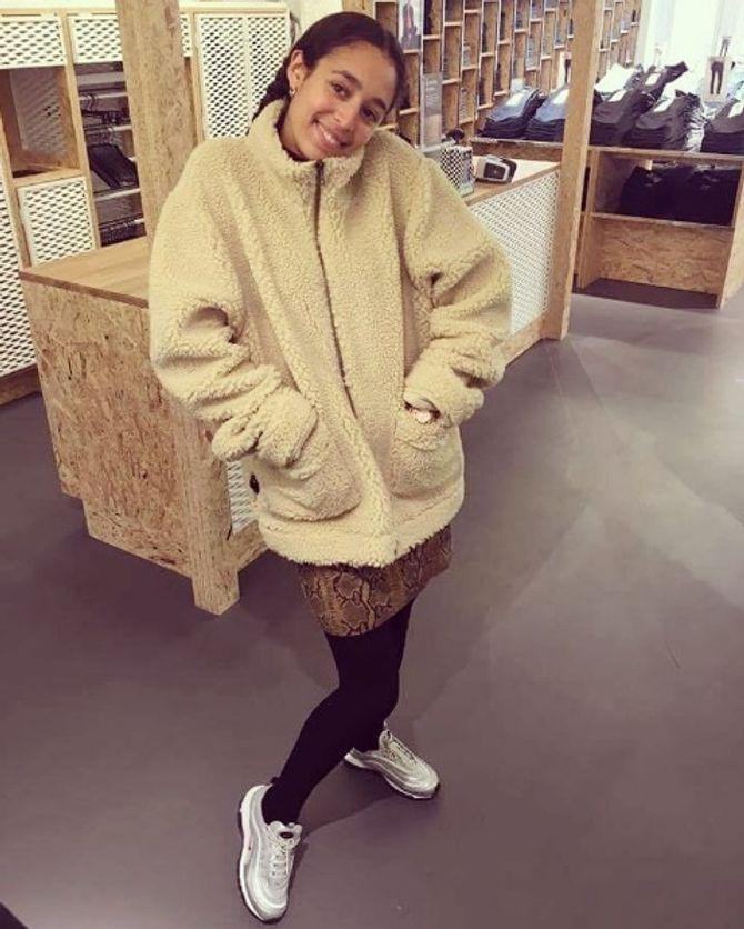 Le manteau nounours, le nouveau must-have des modeuses