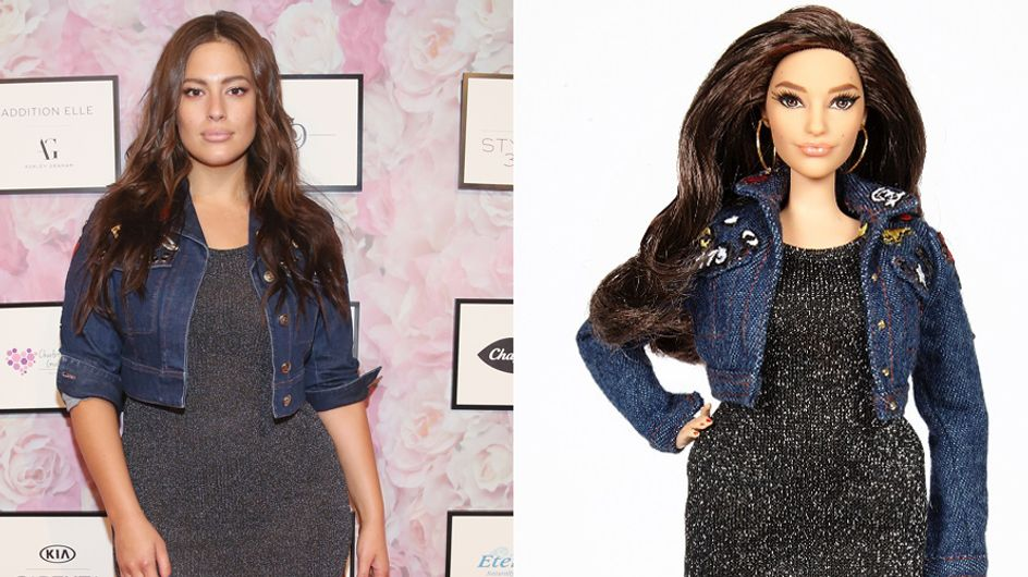 """Modella plus size ispira una Barbie Curvy: """"Voglio una bambola con le cosce che si toccano e la cellulite"""""""