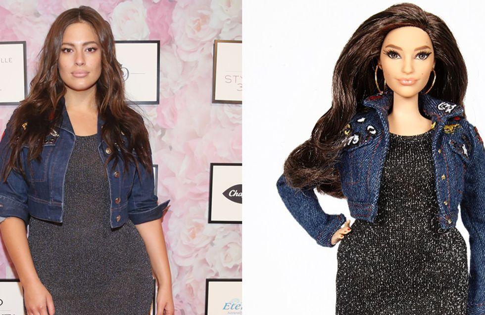 Modella plus size ispira una Barbie Curvy: Voglio una bambola con le cosce che si toccano e la cellulite