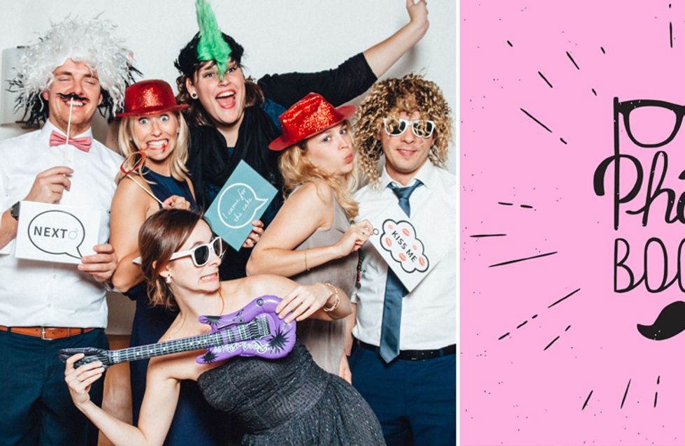 Super cool & simpel: So baust du dir eine Photobooth für deine Silvesterparty!