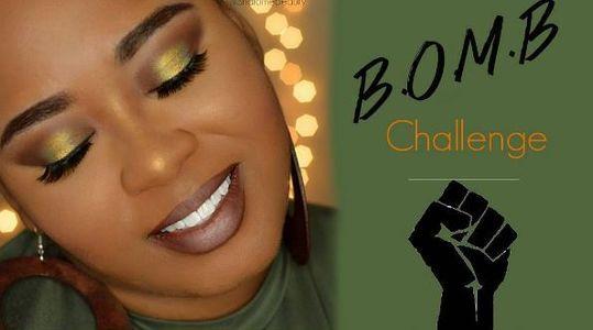 Une internaute reprend le B.O.M.B Challenge sur Instagram
