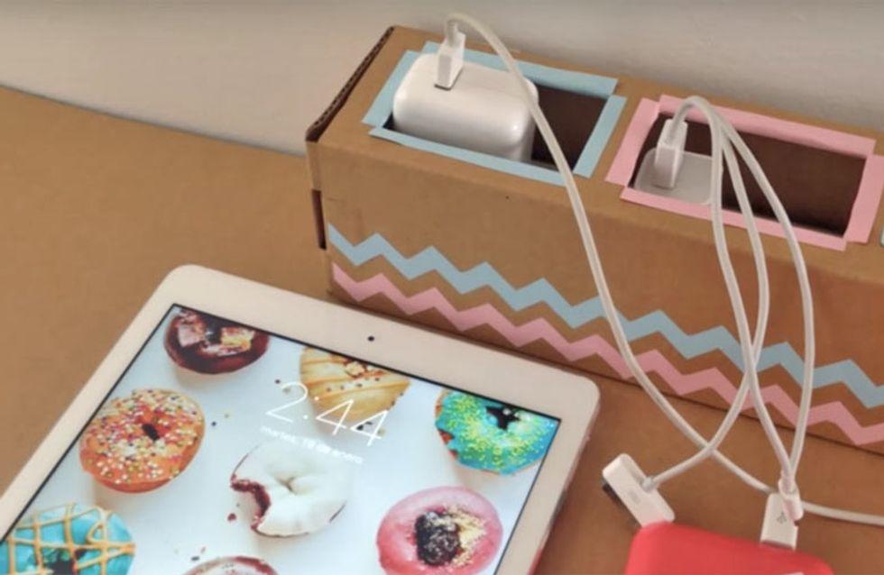 20 soluciones creativas para ordenar los objetos menos decorativos de tu casa
