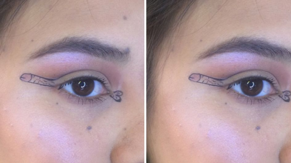 Penis Eyeliner Is The Perfect Response To Extreme Make-up Trends And It'll Blow Your Mind