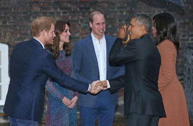 Le diner des Obama à Kensington Palace