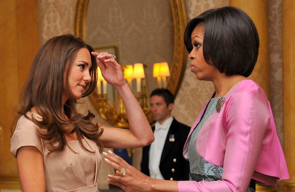 Quel secret beauté Kate Middleton a-t-elle confié à Michelle Obama ?