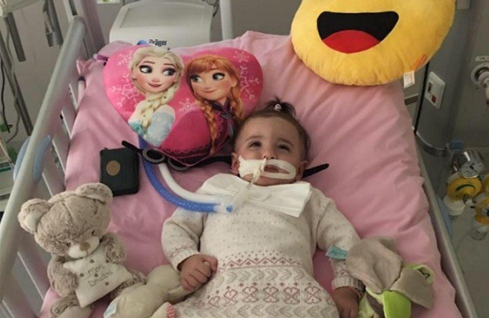 La petite Marwa, que les médecins voulaient débrancher, s'est réveillée ! (Vidéo)