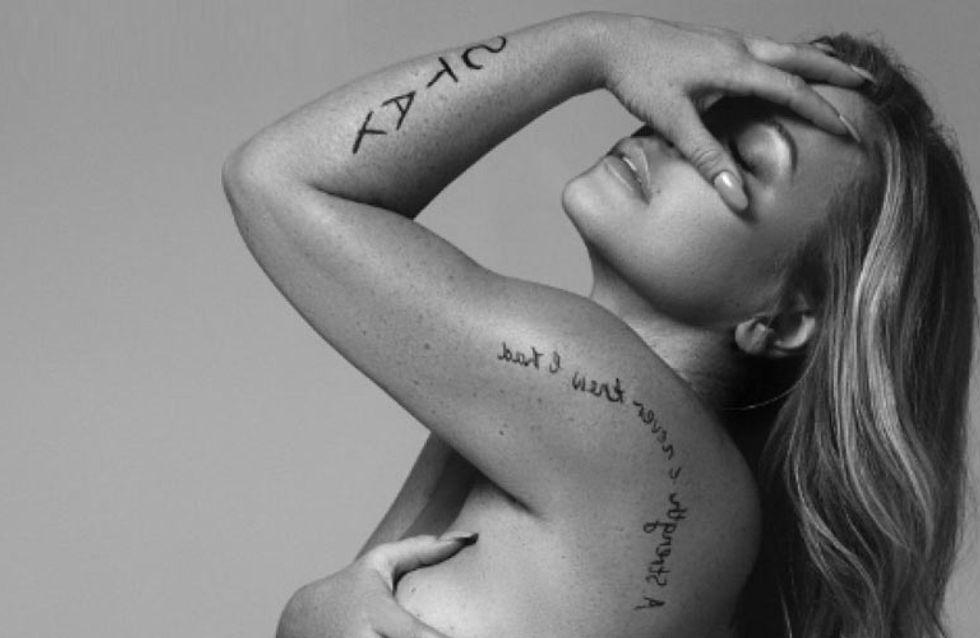 La cantante Anastasia muestra orgullosa las cicatrices de su lucha contra el cáncer