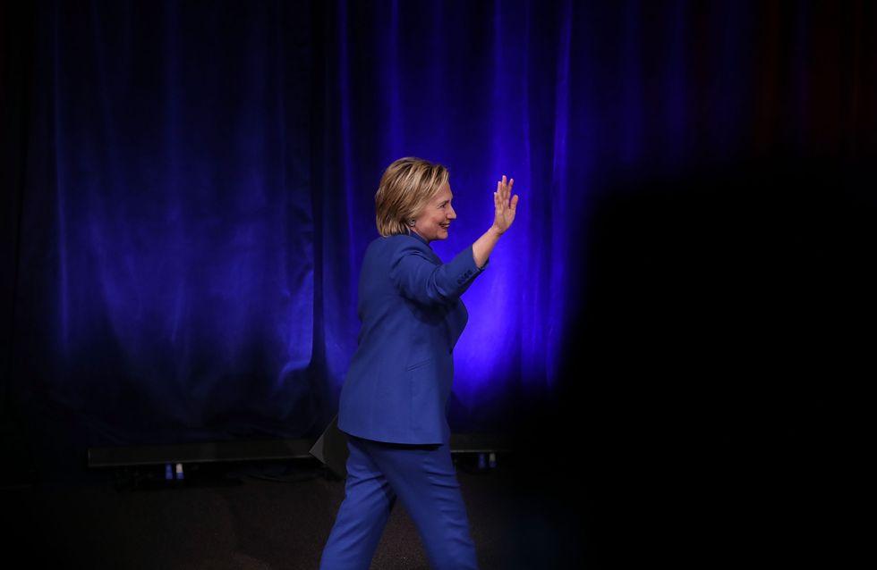 Hillary Clinton : Un enfant de six ans lui a réservé une magnifique surprise (Photos)