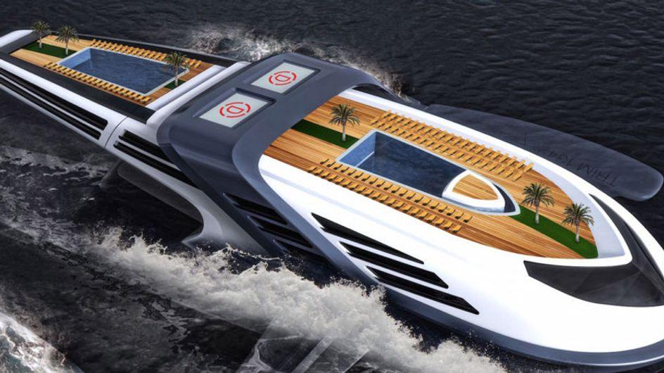 Seataci, un yate de lujo ecológico inspirado en las ballenas