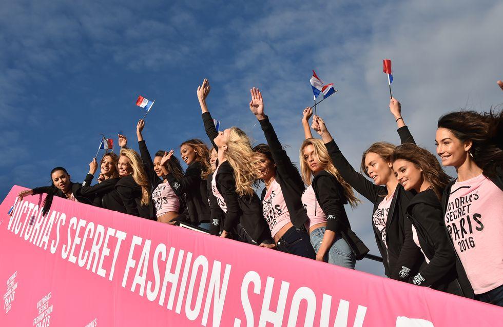 Les Anges de Victoria's Secret débarquent enfin à Paris (Photos)