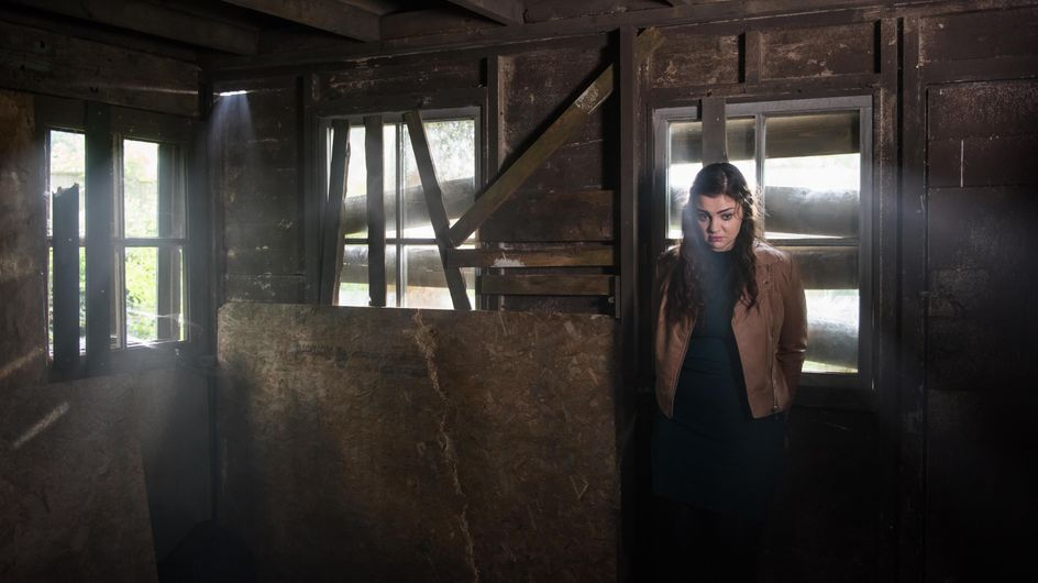 Hollyoaks 05/12 - Celine Wakes Up In The Shack