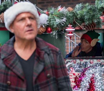 Hollyoaks 06/12 - Ste Disguises Himself As Santa