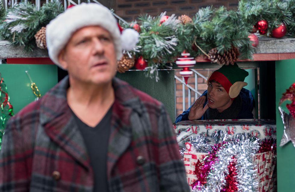 Hollyoaks 06/12 - Ste Disguises Himself As Santa