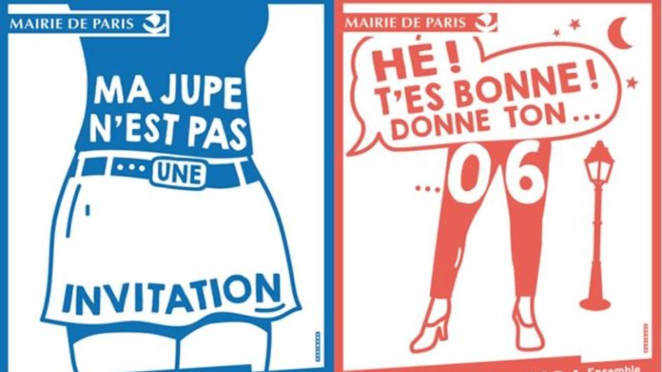 Hé ! t'es bonne Paris lutte contre le harcèlement de rue à travers des affiches et une application (Photos)