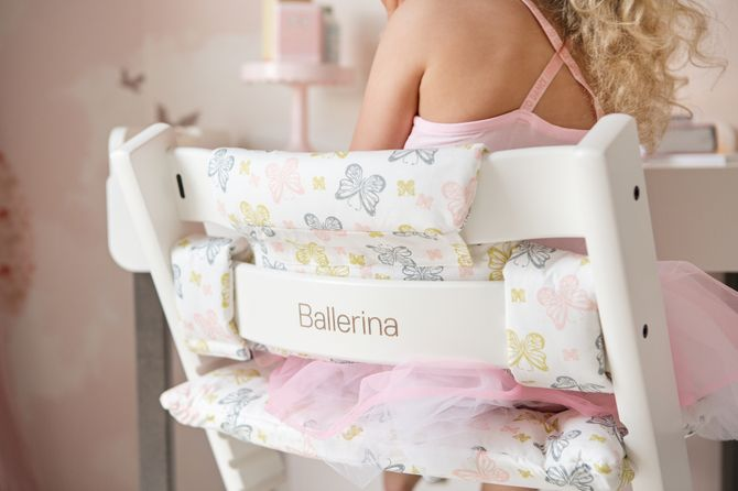 Personnaliser une chaise Stokke