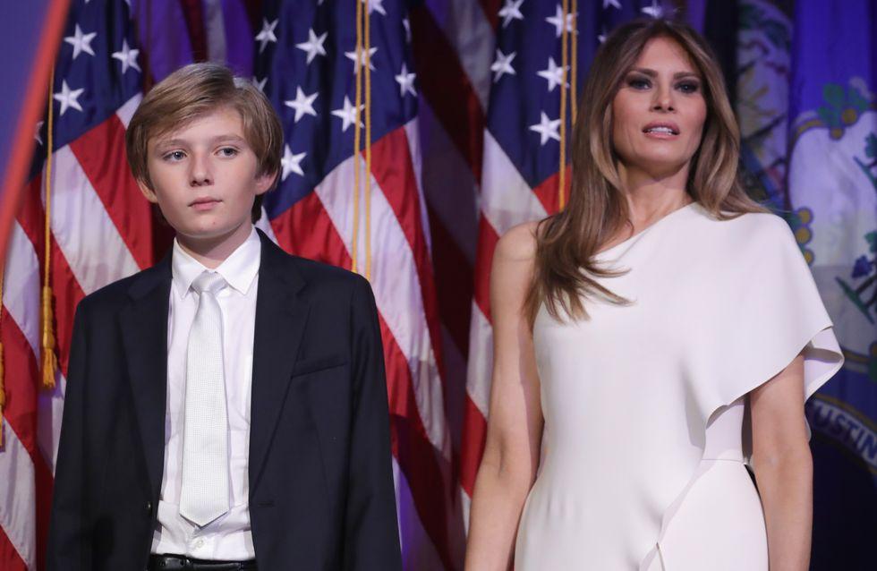 Après Melania, c'est Barron, le fils de Donald Trump qui est attaqué sur la Toile