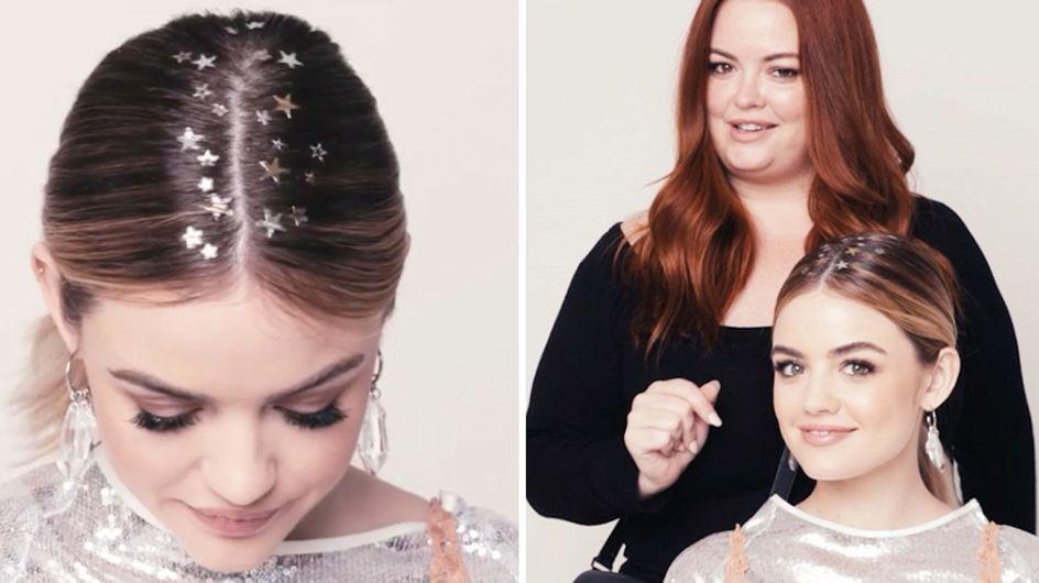 Tatuaggi per capelli a stella: ecco come applicarli e sfoggiare una perfetta acconciatura per le feste!