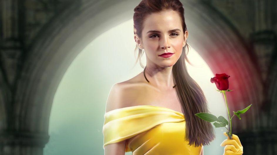 Mais pourquoi Emma Watson a-t-elle refusé de porter un corset pour la Belle et la Bête ? (Photos)