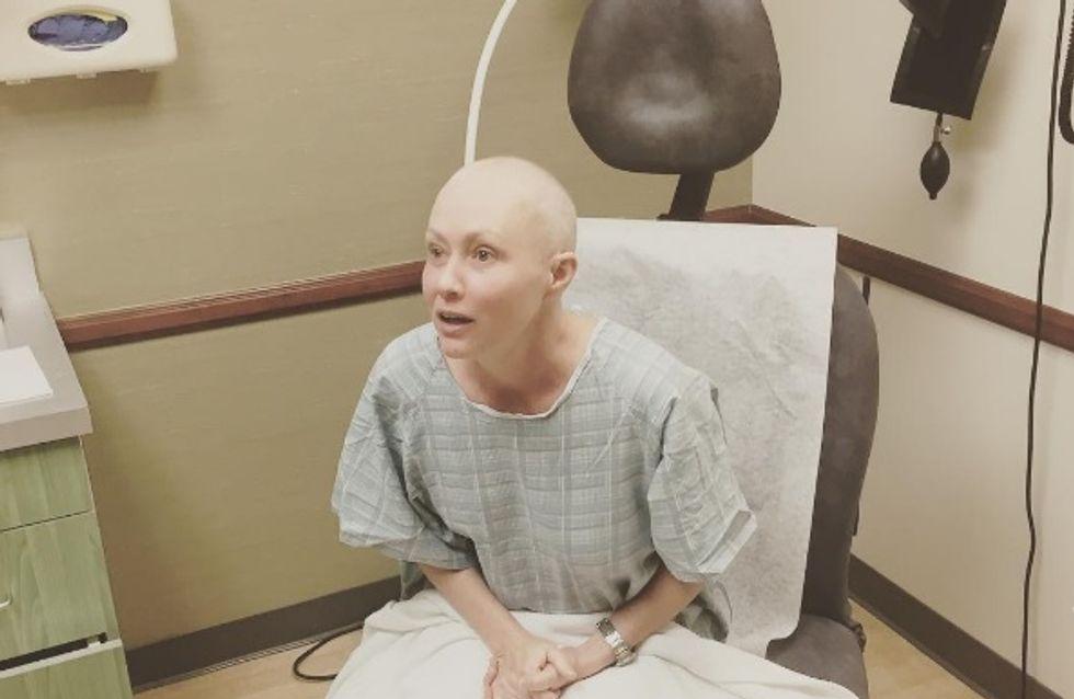 Shannen Doherty, une guerrière face à la radiothérapie (Photos)