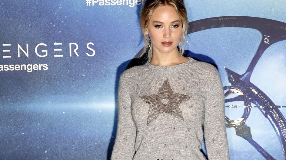 Jennifer Lawrence, une reine des neiges sur le red carpet (Photos)
