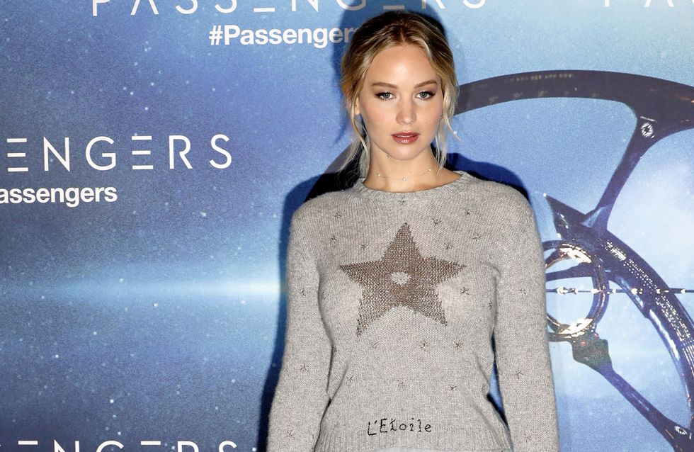 Jennifer Lawrence, une reine des neiges sur le red carpet (Photos)